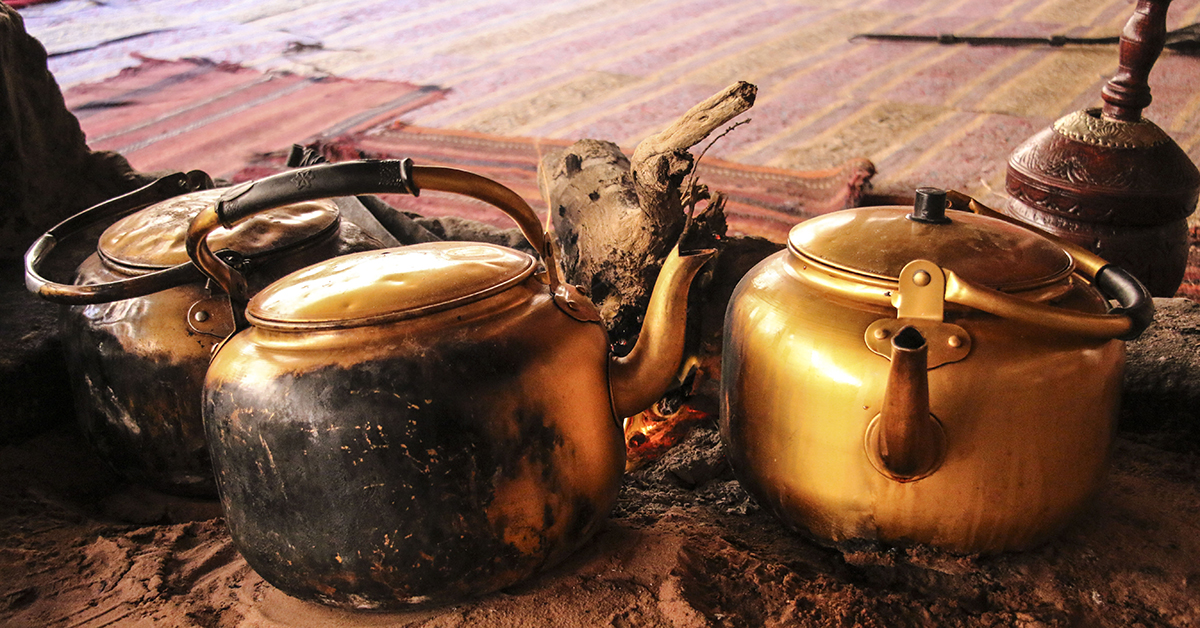 Tee bei den Beduinen