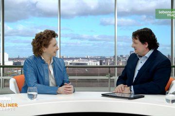 """""""Berliner Rezepte"""": Talk mit Nicola Beer (FDP) und Christoph Minhoff"""