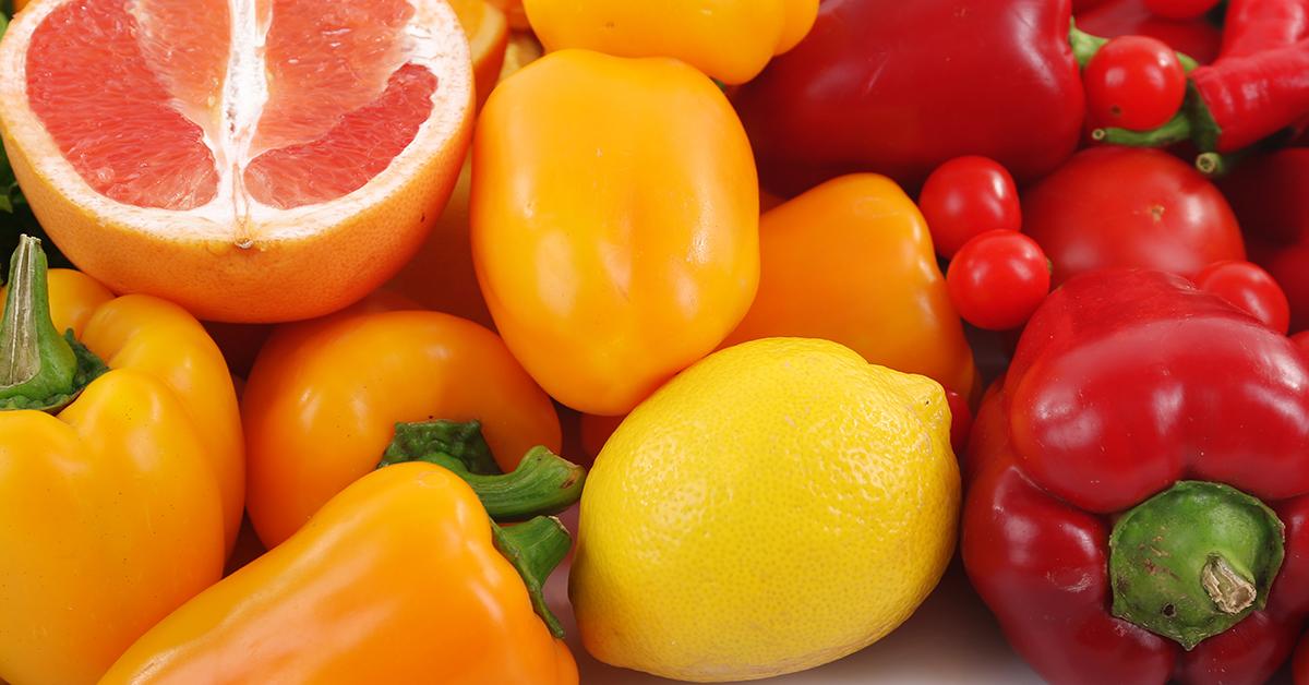 Vitamin-C-reiches Obst und Gemüse