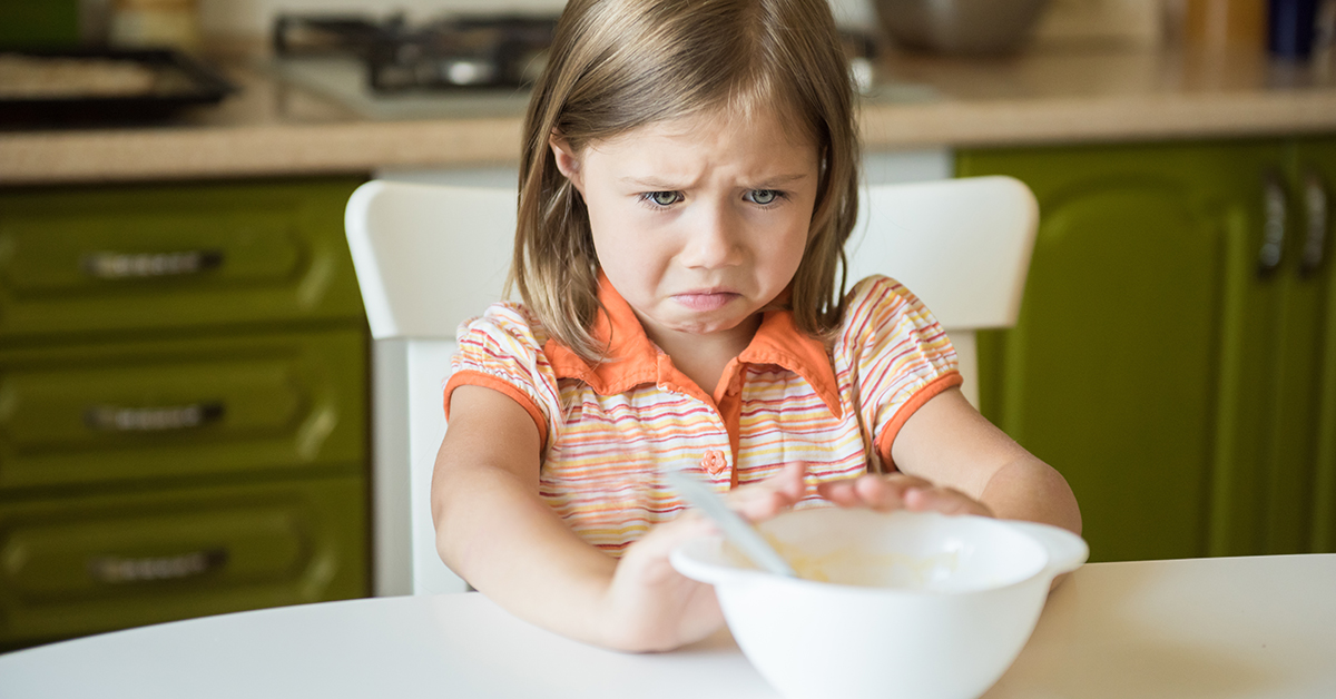 Essen muss Kindern schmecken