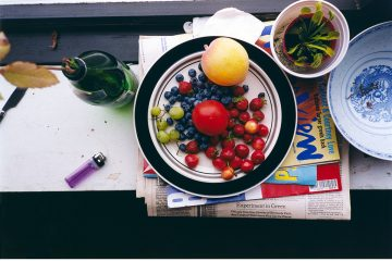 Wolfgang Tillmans, summer still-life, 1995