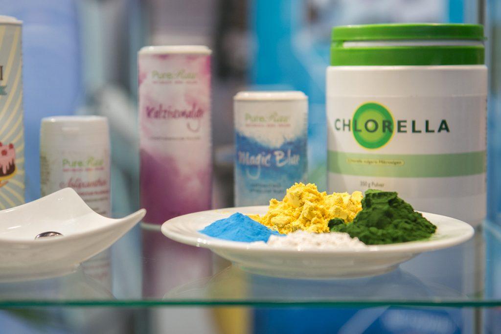 Algenpulver und Algenprodukte