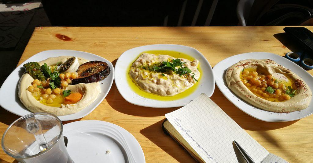 Hummus-Variationen