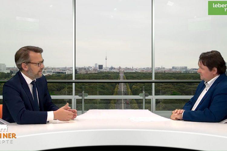"""""""Berliner Rezepte"""" mit Otto Fricke (FDP): Politik in Zeiten von Klimaprotest und Verbotsdebatten"""