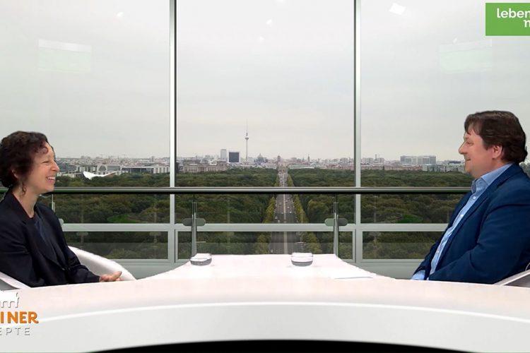"""""""Berliner Rezepte"""" mit Margit Stumpp (Grüne): Ernährungsbildung in der Schule und Wahlrecht mit 16?"""