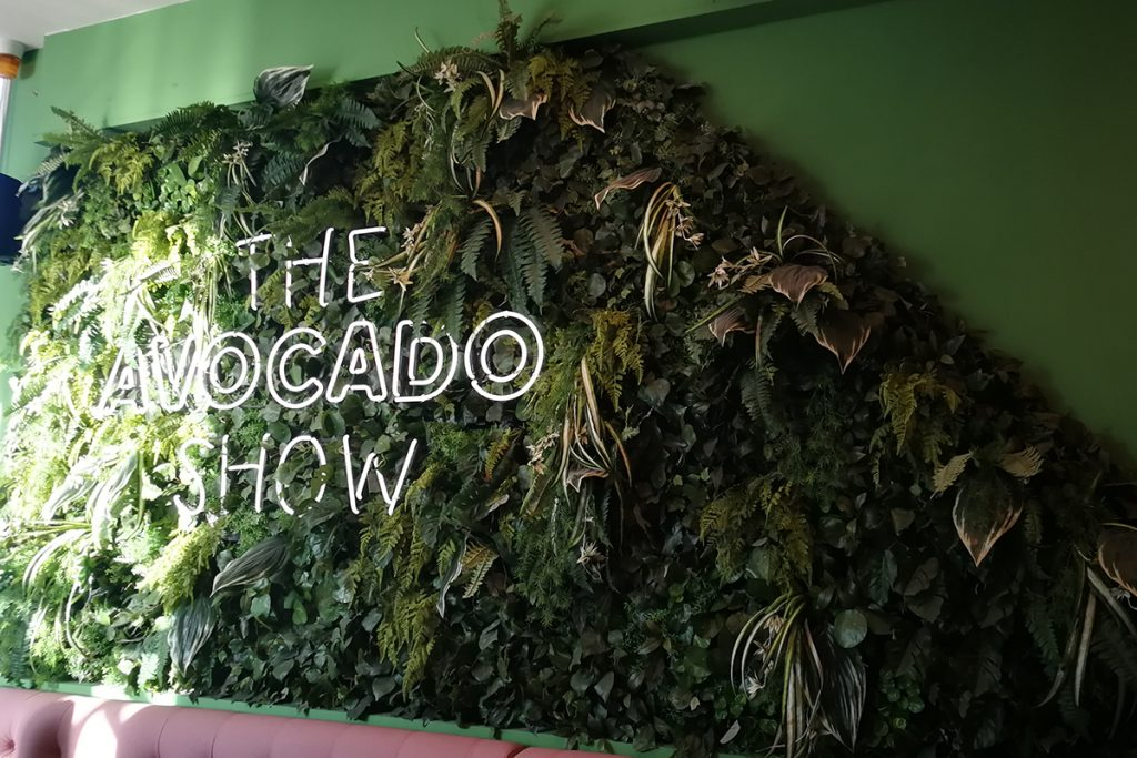 "Avocado-Restaurant ""The Avocado Show"" in Amsterdam"