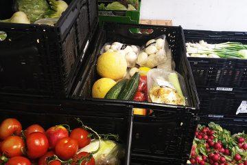 Die Tafeln holen aussortierte Lebensmittel ab und verteilen sie weiter.