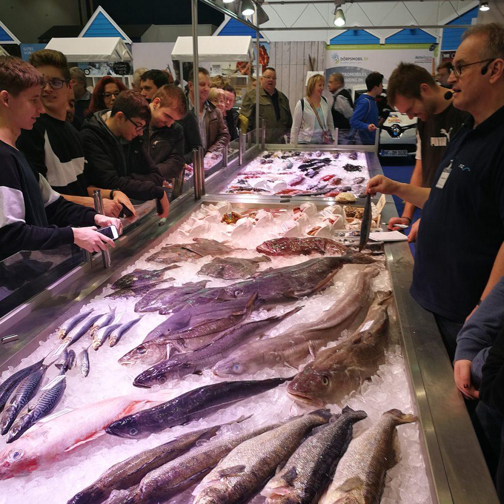 Fischvielfalt auf der Grünen Woche