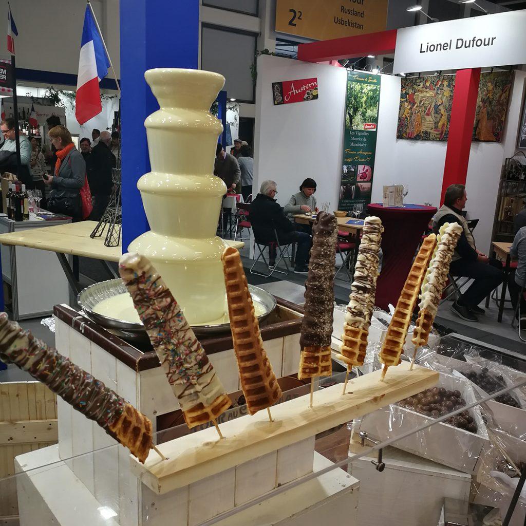 Eiffelturm-Waffeln