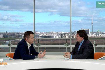 Dr. Gero Hocker (FDP) im Talk mit Christoph Minhoff.