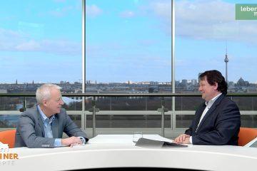 """Berliner Rezepte"": Markus Töns (SPD) mit Christoph Minhoff"