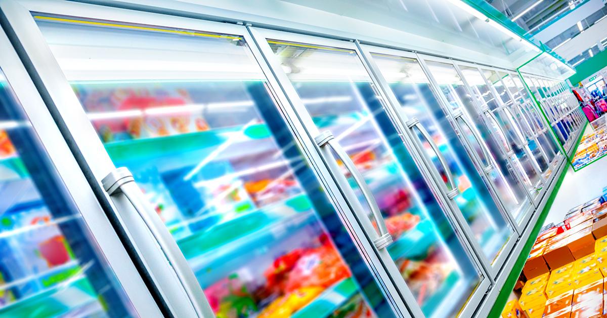 Tiefkühlkost im Supermarkt