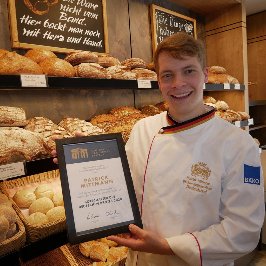 Brotbotschafter Patrick Mittmann