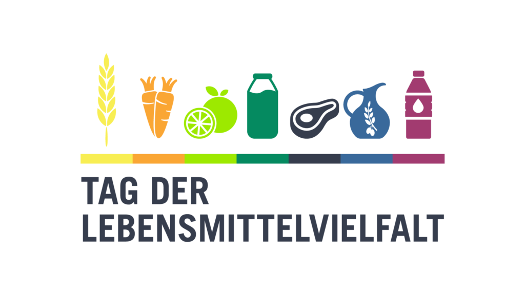 "Logo zum ""Tag der Lebensmittelvielfalt"""