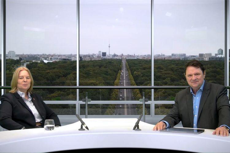 """Coronakrise: Was sind die Learnings … für Wirtschaft, Politik und Europa – """"Berliner Rezepte"""" mit Bärbel Bas (SPD)"""