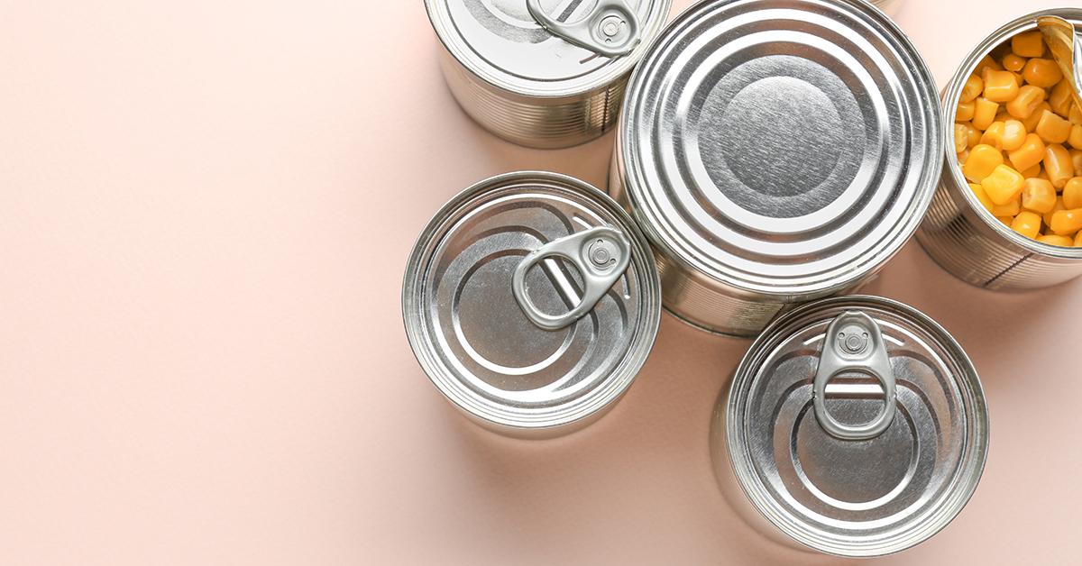 Konservendosen gelten als optimale Lebensmittelverpackung.