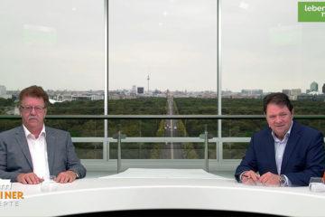 """Hans-Joachim Fuchtel in der Talkshow """"Berliner Rezepte"""""""