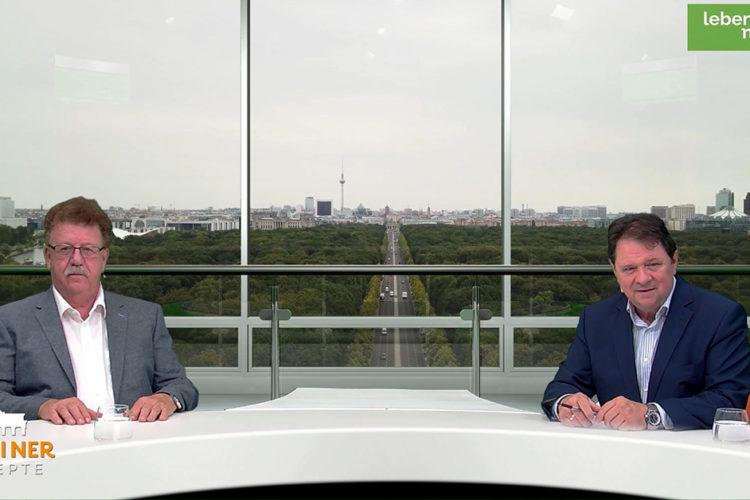 """Wie viel Wissenschaft ist in der Ernährungspolitik? – """"Berliner Rezepte"""" mit PStS Hans-Joachim Fuchtel (BMEL)"""