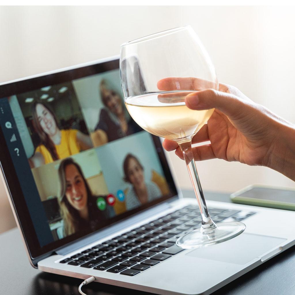 Gemeinsam Weintrinken: In Coronazeiten geht das auch digital