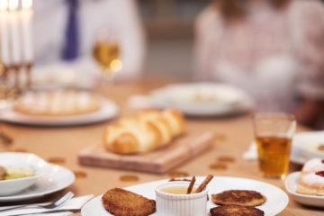 Hanukkah-Dinner