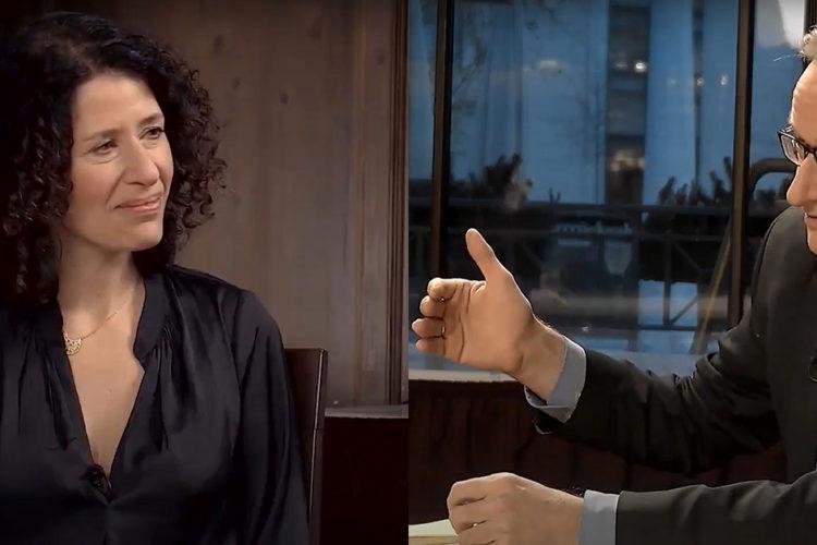"""Riss durch die Gesellschaft tiefer durch Corona? – Bettina Jarasch (Grüne Berlin) und Albrecht von Lucke im """"Küchenkabinett"""""""