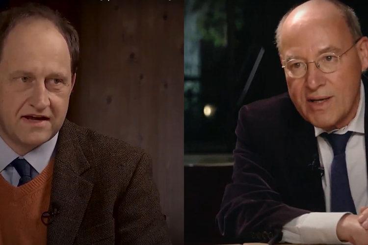 """Wie viel Trumpismus bleibt und was bedeutet das für Europa? – Gregor Gysi (Linke) und Alexander Graf Lambsdorff (FDP) im """"Küchenkabinett"""""""