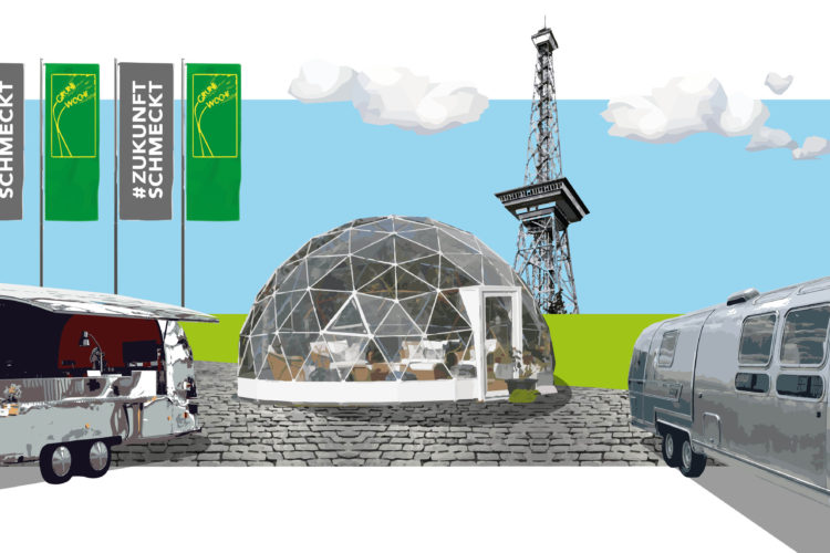 Die Bundesvereinigung der Deutschen Ernährungsindustrie (BVE) und der Lebensmittelverband Deutschland sind in diesem Jahr mit einem mobilen Sendestudio und einem Food-Truck auf der Grünen Woche