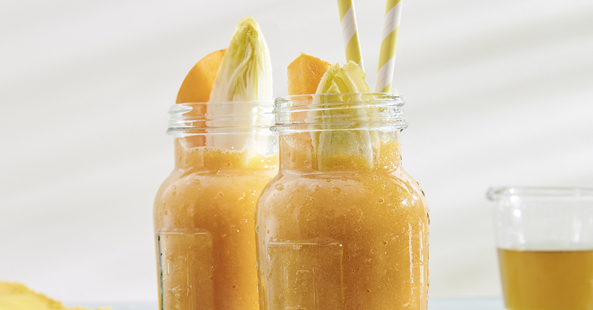 Zum Jahresstart ein leckeres Rezept: Matetee und fruchtig-bitterer Smoothie.