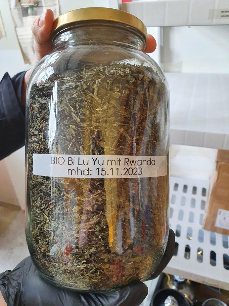 Bio-Tee für die Herstellung von Kombucha