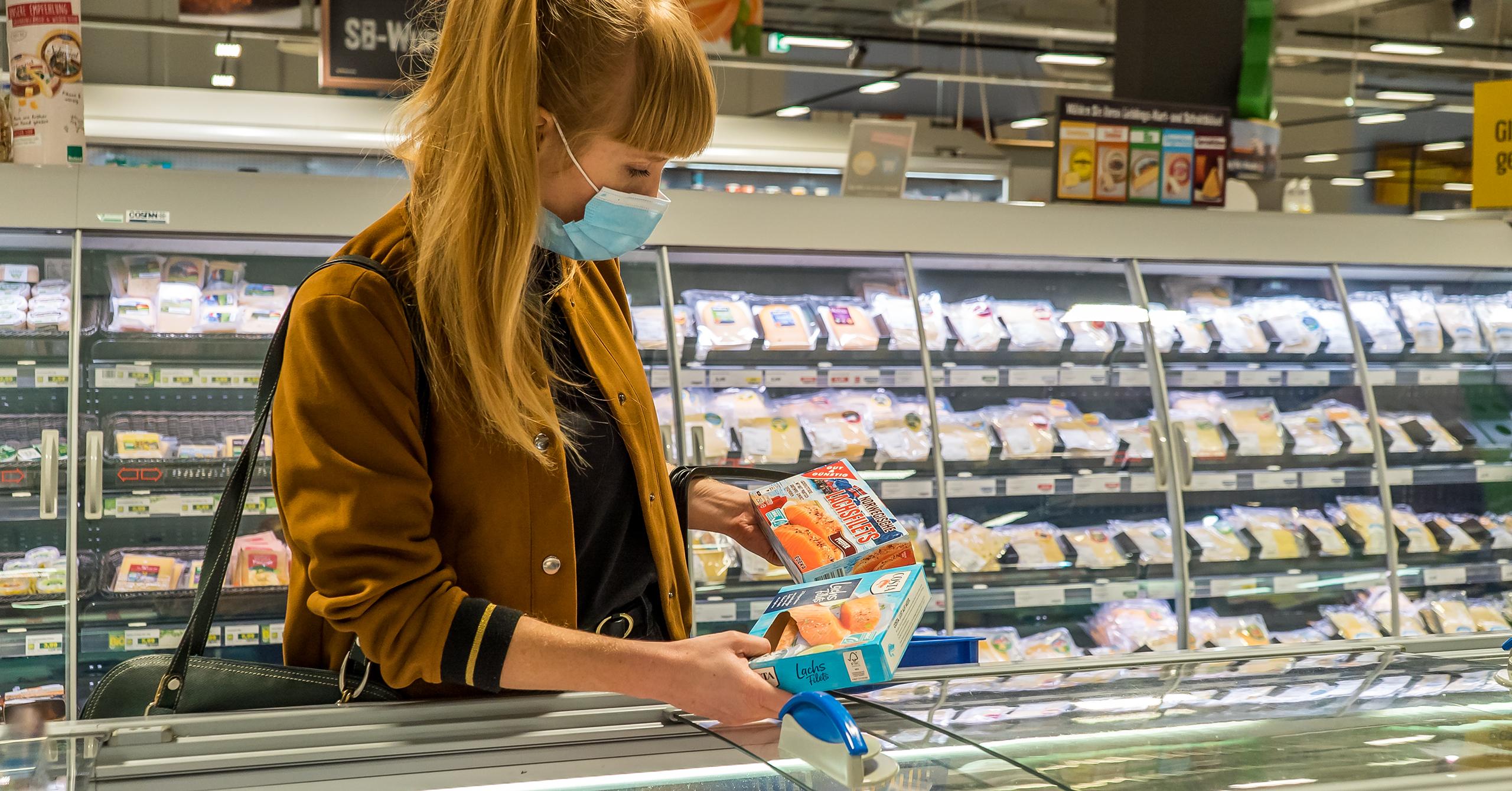 Auf 70 Prozent der Produkte aus Aquakultur finden Verbraucher:innen das ASC-Siegel.