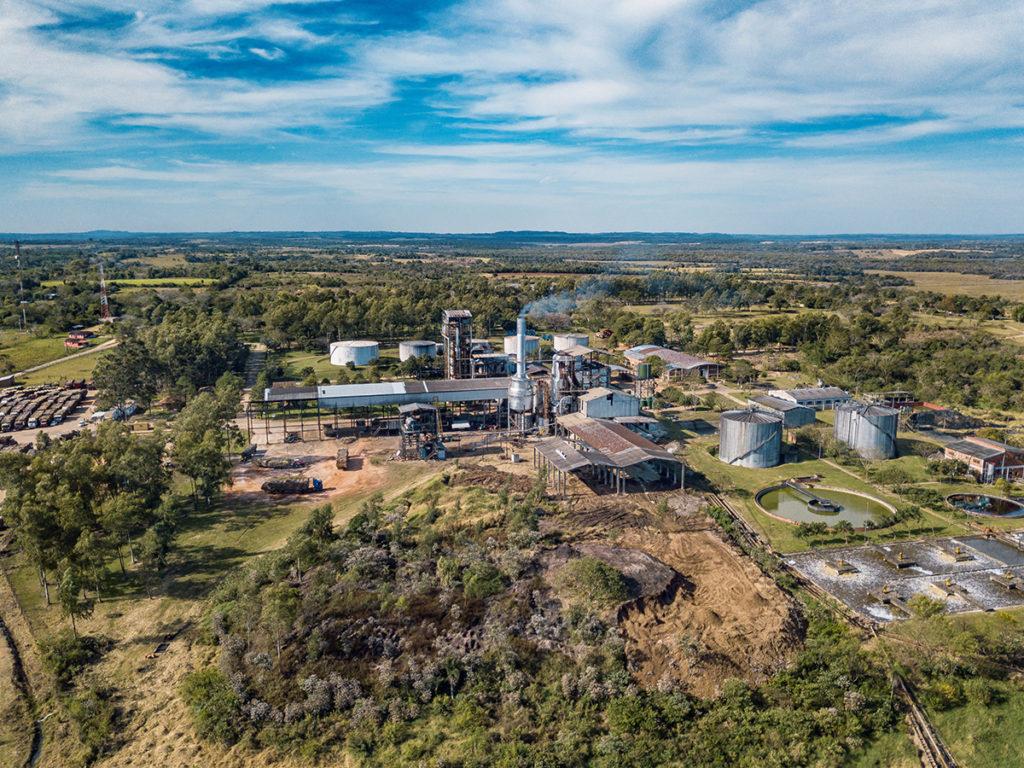 Zuckerfabrik in Paraguay